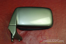 Porsche 911 Left Power Mirror with Housing Granite Green OEM 91173102302