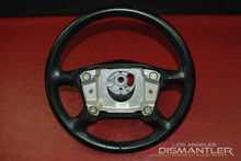 Porsche 911 996 Carrera 4-Spoke Steering Wheel Black Leather 993.347.804.54 OEM