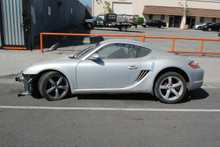 2006 Silver Cayman S 987c