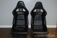 Porsche 911 997 Twin Turbo Carbon Fiber GT2 Racing Bucket Seats LEFT RIGHT OEM
