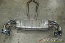 08-10 Porsche 957 Cayenne GTS 4.8L Exhaust System Muffler Tips Genuine OEM