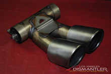 Porsche 981 Boxster Cayman Exhaust Tip Tailpipe 98111136100 Factory OEM