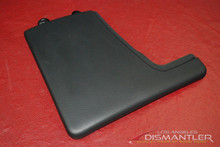 Porsche 911 997 987 Boxster Black Vinyl Left Center Console Trim Cover OEM