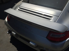 Porsche 911 997 Twin Turbo Rear Tail Lid Lift Assembly C4S Conversion Spoiler