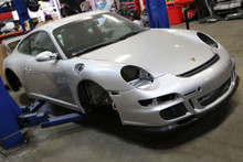 Porsche 911 997 GT3 Chassis Shell Project Builder Salvage Body