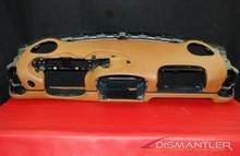 Porsche 911 996 Carrera Dashboard Brown Tan Leather Dash Panel 99655221103 OEM