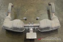 Porsche 987 Boxster Cayman Exhaust Muffler + Catalytic Converters