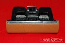 Porsche 911 930 Carrera Ashtray Ash Tray Leather Tan Brown Coin Holder OEM