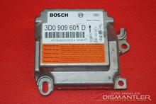 04 Porsche 955 Cayenne SRS Airbag Sensor Control Unit 3D0909601D Air Bag Module