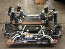 Porsche 911 991 Twin Turbo S Complete Front and Rear Suspension Axle Carrier