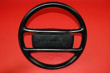 Porsche 911 930 964 Carrera Classic Steering Wheel 4 Spoke Black Leather OEM