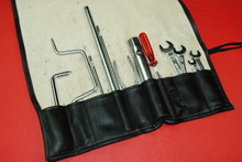 Porsche 911 993 Targa Carrera Tool Kit 12 Pieces + Vinyl Tool Bag Factory OEM