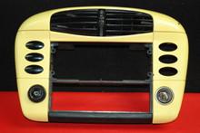 Porsche 911 996 Center AC Dash Air Vent Stero Housing Cover Panel