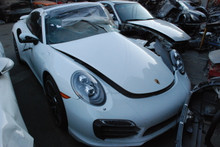 2014 White 911 991 Turbo Coupe