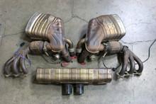 Porsche 911 997 GT3 Complete Exhaust System Mufflers Header Catalytic Converter  99711102790
