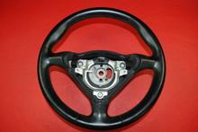 Porsche 911 996 Carrera Boxster Black CPZ Leather Steering Wheel 99634780464 A28
