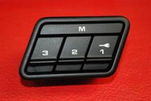 Porsche 911 997 Carrera Power Seat Memory Switch Knob Button OEM