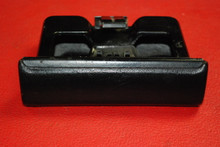 Porsche 911 930 Carrera Ashtray Ash Tray Black Vinyl Leatherette Coin Holder OEM