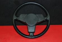 Porsche 911 912 930 Carrera Classic Black 3-Spoke Steering Wheel Genuine OEM