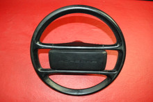 Porsche 911 930 964 Carrera Classic Steering Wheel 4 Spoke Black 96434708400 OEM