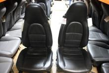 Porsche 993 Supple Black Leather Front Seats