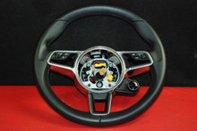 Porsche 911 991 Carrera 981 Boxster Steering Wheel w/ Phone Switches 9P1419091EB