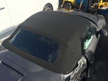 Porsche 981 Boxster Cabriolet Convertible Top Black Canvas Frame