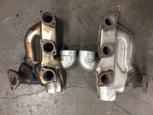 Porsche 911 993 Twin Turbo Headers Heat Exchangers Pair Left Right Factory OEM