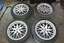 Genuine Porsche 986 Boxster BBS Wheels Rims Set 8.5x17 ET50 | 7x17 ET55 OEM  99336212451,  99336212655
