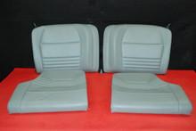 Porsche 911 996 Carrera Set (4) Rear Seats Upper & Lower Backrests Bottom Grey