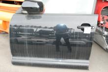 08 09 10 Porsche 957 Cayenne Left Driver Front Door Assembly Black OEM 2008-2010