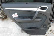 2008-2010 Porsche 957 Cayenne Rear Left Driver's Side Interior Door Panel Trim