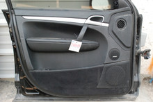 Porsche 957 Cayenne Front Left Driver's Side Interior Door Panel Trim 2008-2010