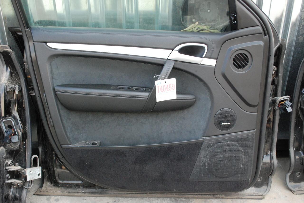 Porsche 957 cayenne front left driver 39 s side interior door for 10 panel interior door