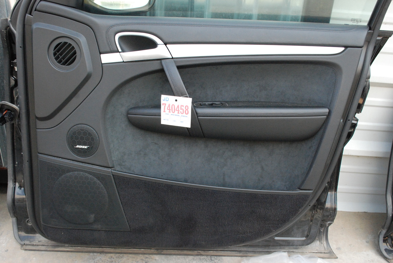 Porsche 957 cayenne front right passenger side interior door panel trim 2008 39 10 los angeles Porsche cayenne interior parts