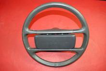Porsche 911 930 964 Carrera Classic Steering Wheel 4 Spoke Grey Leather OEM