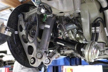 Porsche 911 991 Turbo S Complete Rear Driver Side Suspension Arms Carrier