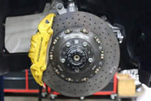 Porsche Ceramic Composite Brake System 911 991 Turbo S Calipers and Rotors PCCB