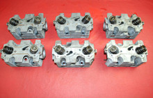1995 Porsche 911 993 Carrera 3.6L Engine Cylinder Head set of 6 OEM Heads '95