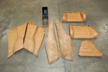 74-83 Porsche 911 Carrera Interior Trim Set: Rear Seats Quarter Panels Console