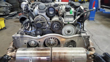 Porsche 911 997 Twin Turbo Complete Engine Motor Used Assembly