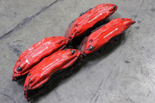 Porsche 911 993 Twin Turbo Caliper Calipers Set Brembo BIG REDS Rare RS