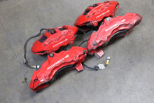 Porsche 911 997 Turbo Carrera Brembo Calipers Caliper Set (4) OEM Factory