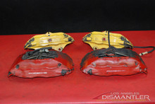Porsche 911 993 Turbo Big Red Brake Calipers Caliper Set Front & Rear OEM