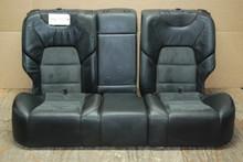 Porsche  957 Cayenne Rear Seats Black Alcantara OEM  (3 pieces)  7L5885259A