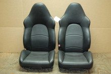 Porsche 911 993 Turbo Hardback Sport Seats Black Leather 4x4