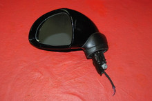 Porsche 911 991 981 Boxster Cayman Left Driver Side Mirror Black OEM