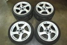 Porsche 911 996 Turbo Twist Wheel Set Rims Hollow 8x18 ET50 | 11x18 ET45 OEM