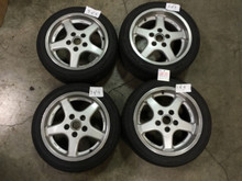 Porsche 911 Carrera RUF Speedline Classic Wheels Wheel Set SL543 SL542 Genuine