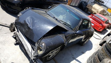 Porsche 911 993 Black Coupe Rolling Chassis Body Shell Project